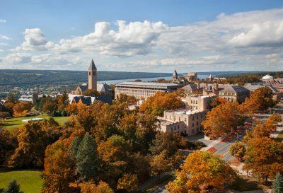 Cornell's central campus