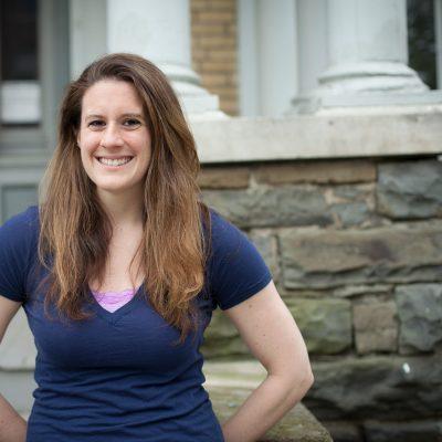Carolyn Fisher, graduate student in molecular biology and genetics