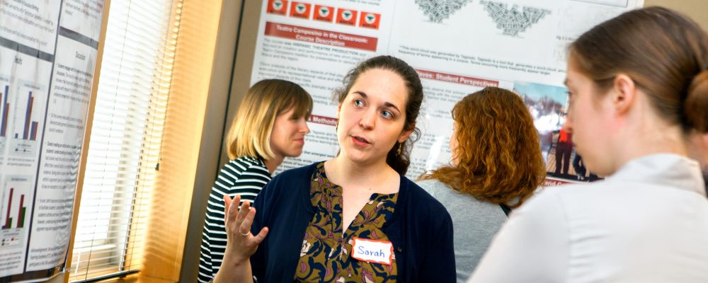 Sarah Maxey, Government (PhD '17) discusses her teaching project