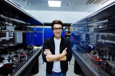 Postdoc Maxim Shcherbakov, Applied and Engineering Physics