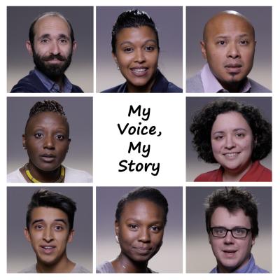 My Voice, My Story actors
