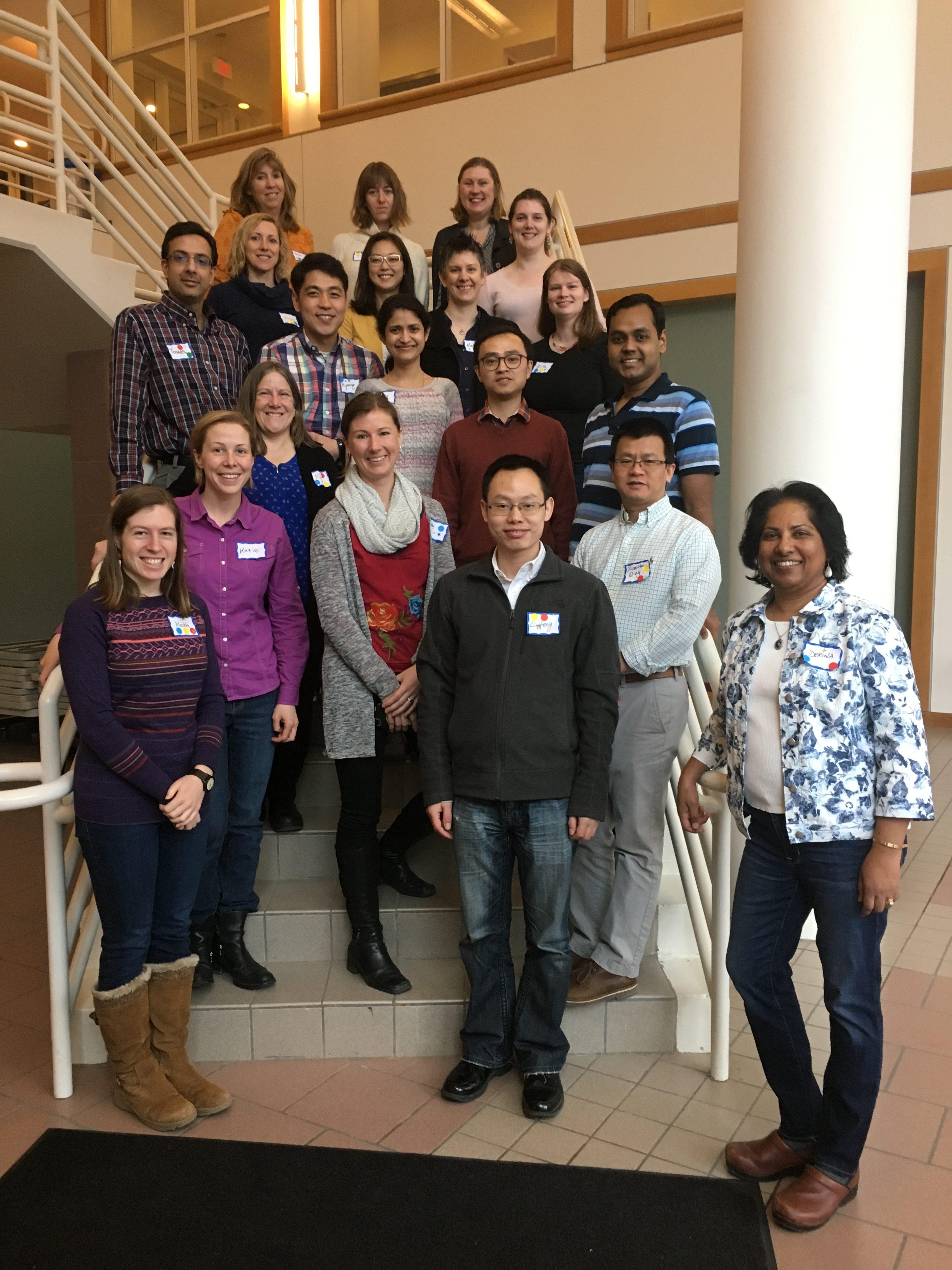 Inclusive Teaching Institute participants