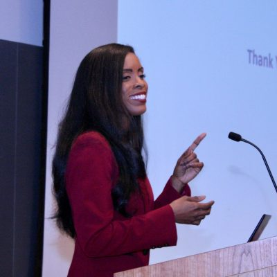 PhD Alumna and Professor Deondra Rose presents in the Maximizing Your Mentoring Series