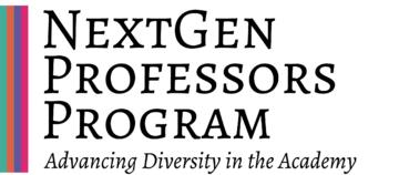 NextGen Professors logo - Advancing Diversity in the Academy